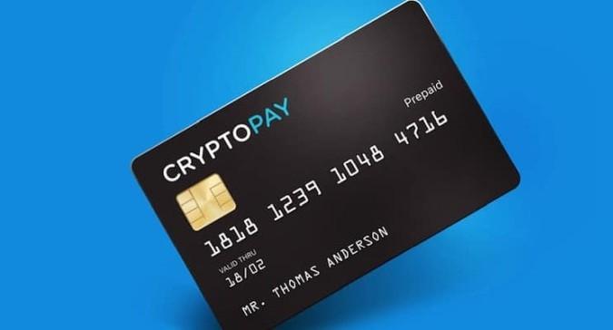 Cryptopay rolt nieuwe prepaid creditcards eindelijk uit